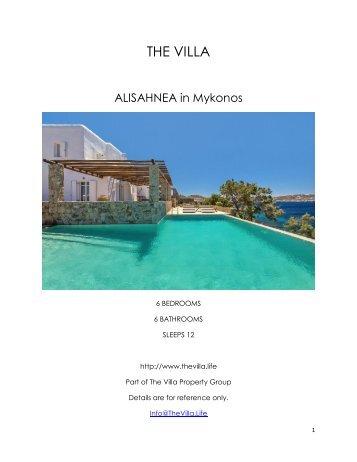 Alisahnea - Mykonos