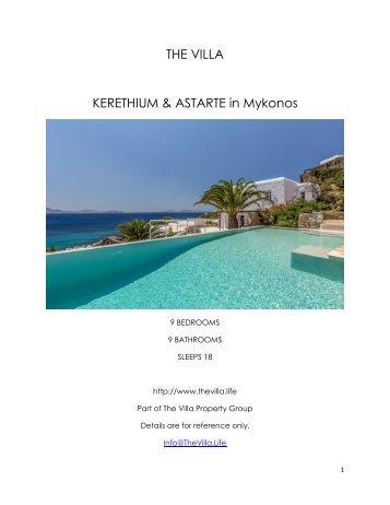 Kerethium & Astarte - Mykonos