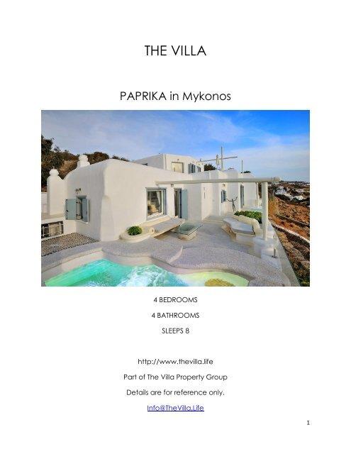 Paprika - Mykonos
