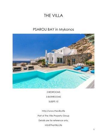 Psarou Bay - Mykonos