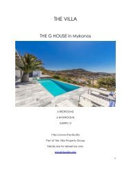 The G House - Mykonos