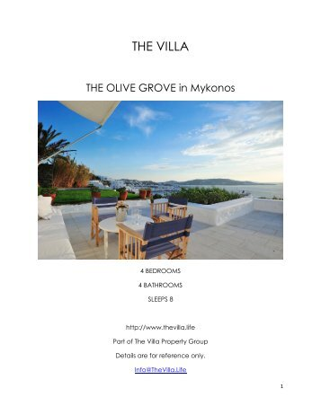 The Olive Grove - Mykonos