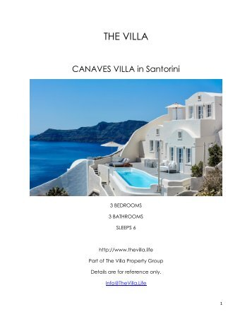 Canaves Villa - Santorini