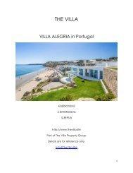 Villa Alegria - Portugal