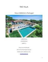 Villa Genoa - Portugal