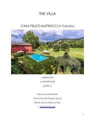 Casa Felice Matteucci - Tuscany