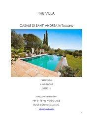 Casale di Sant' Andrea - Tuscany
