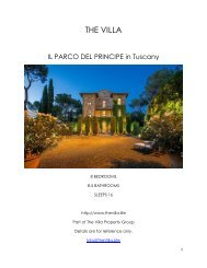 Il Parco del Principe - Tuscany