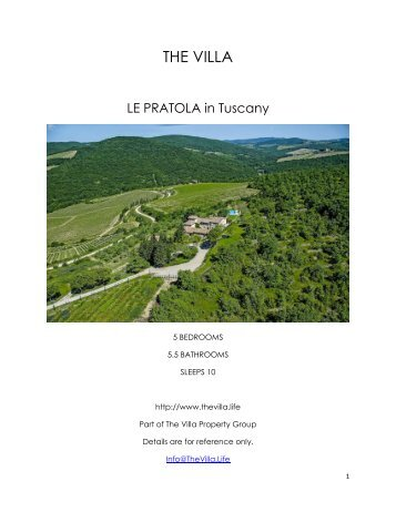 La Pratola - Tuscany