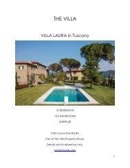 Villa Laura - Tuscany