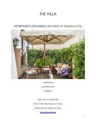 Apartment Leonardo Da Vinci - Florence City