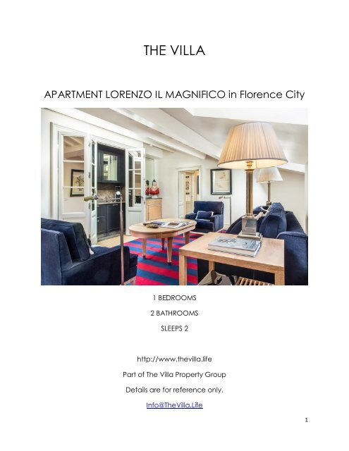 Apartment Lorenzo Il Magnifico - Florence City