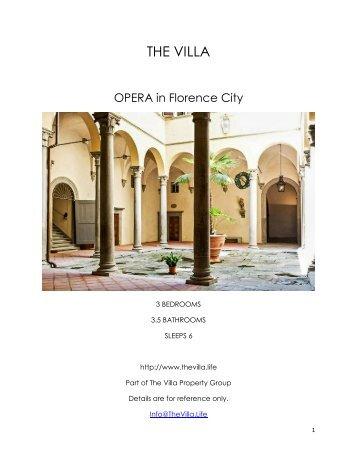 Opera - Florence City