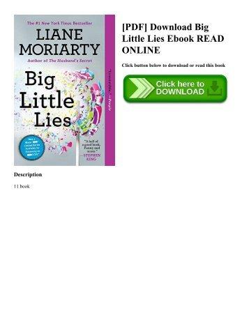 [PDF] Download Big Little Lies Ebook READ ONLINE