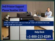 Dell Printer Support Phone Number
