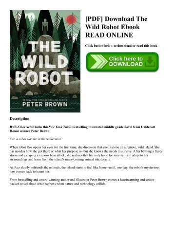 [PDF] Download The Wild Robot Ebook READ ONLINE