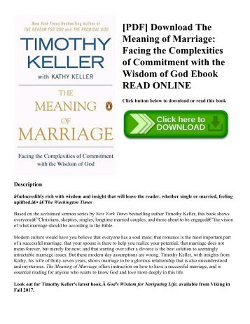 marriage commitment meaning