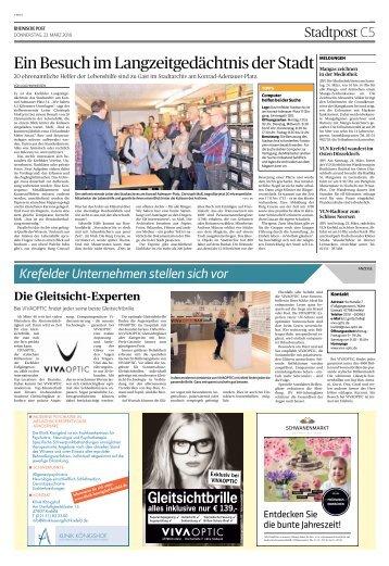 Krefelder Unternehmen stellen sich vor  -22.03.2018-