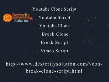 Break Clone , Break Script, Vimeo  Script, Youtube Clone Script, Youtube Clone, Youtube Script (1)