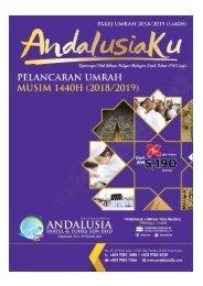 Digital Brochure Umrah Andalusia 1440H