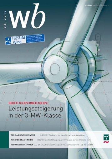 Enercon Windblatt 03/2017