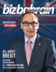 BIZ BAHRAIN UK SUPPLIMENT (Aug 2016)