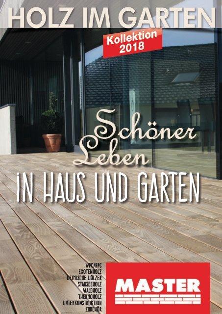 Master Holz im Garten Katalog 2018