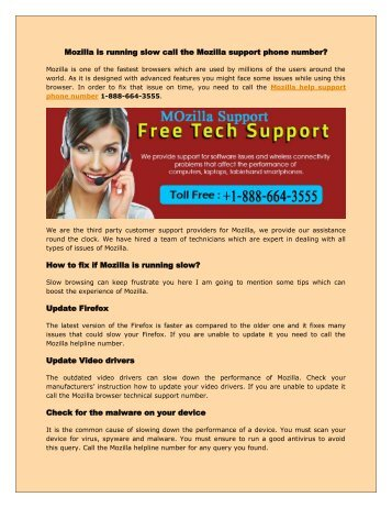 Mozilla Firefox support 1-888-664-3555 phone_number