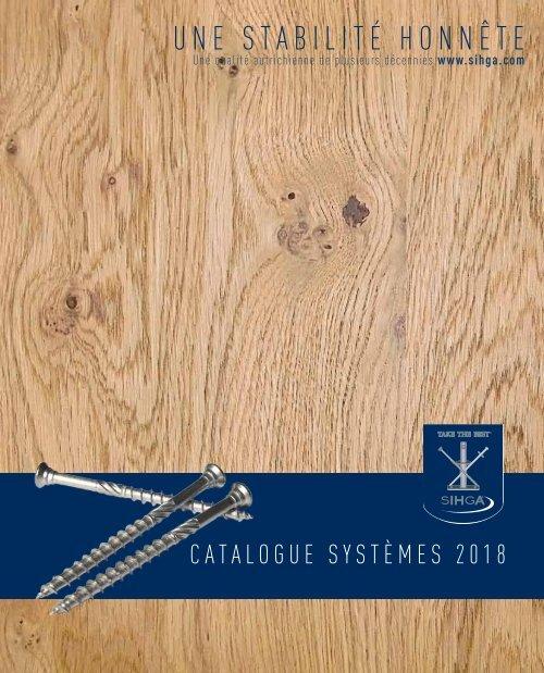 Catalogue Systèmes 2018
