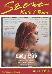 Szene Köln-Bonn, Ausgabe 04.2018