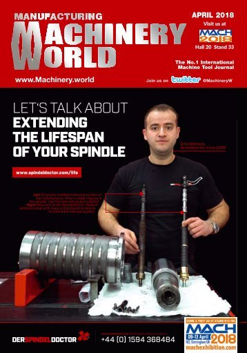 Manufacturing Machinery World April 2018