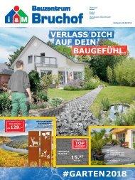 Gartenkatalog #GARTEN2018 i&M Bauzentrum Bruchof