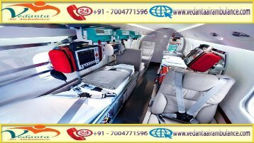 Vedanta Air Ambulance from Ranchi to Delhi at a Low-cost