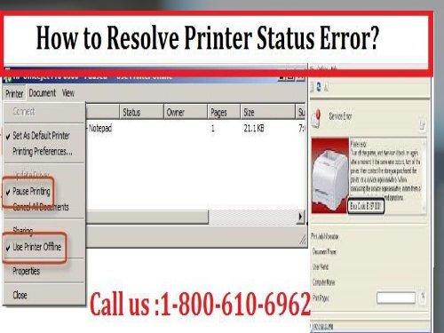 Default Error Printer