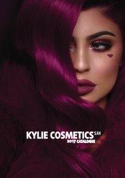 Kylie Cosmetics 2017 Catalogue