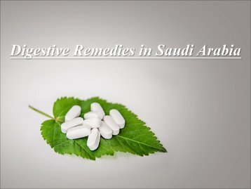 Digestive Remedies in Saudi Arabia