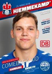 Hallenheft Handball Sport Verein Hamburg – Skive fH