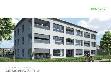 Dokumentation Eigentumswohnungen am Zeisigweg in Zuchwil