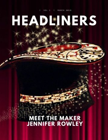 Headliner Meet The Maker Jennifer Rowley
