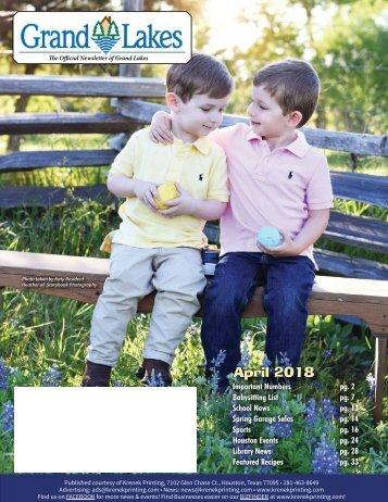 Grand Lakes April 2018