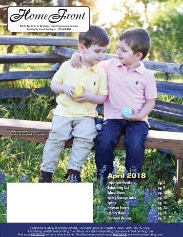 Westheimer Lakes April 2018