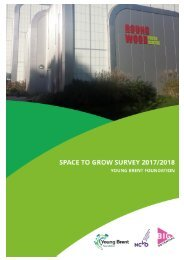 Young Brent Foundation Space To Grow Report