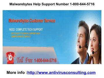 Malwarebytes Help Support Number 1-800-644-5716