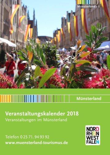 Veranstaltungskalender Münsterland 2018