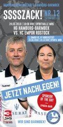 SSSSZACK! HGHB vs. HC Empor Rostock