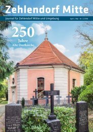 Zehlendorf Mitte Journal Nr. 2/2018