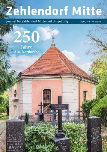 Zehlendorf Mitte Journal Nr. 2/2018