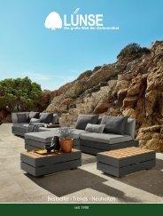 Gartenmöbel Lünse - Katalog 2018 / 2019