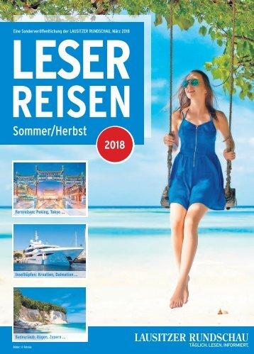 RUNDSCHAU Leserreisen Sommer/Herbst 2018