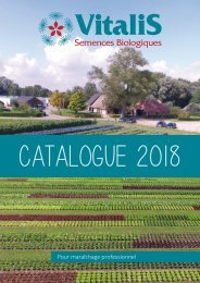 Vitalis Catalogue France 2018